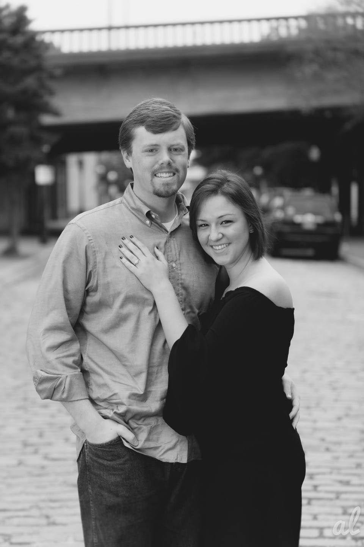 Marcus + Nancy Engagament Sesson | Morris Avenue | Birmingham Alabama-1