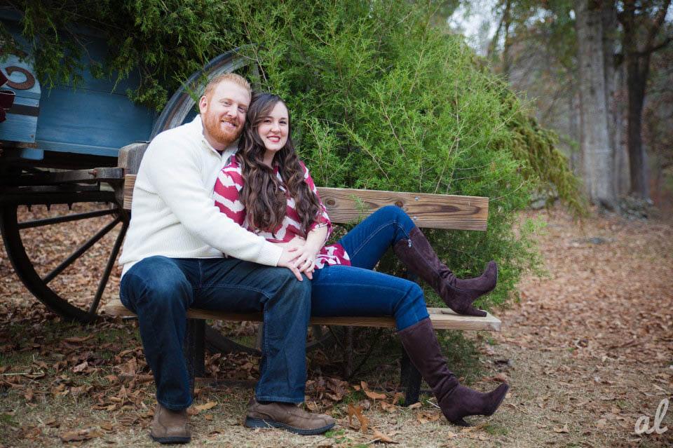 Tyler and Luke | Engagement |Tannehill State Park-1