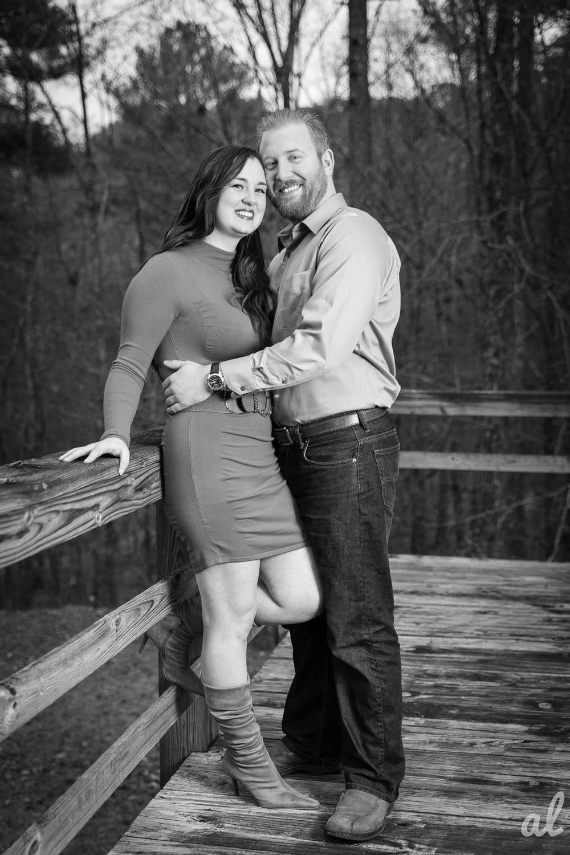 Tyler and Luke | Engagement |Tannehill State Park-12