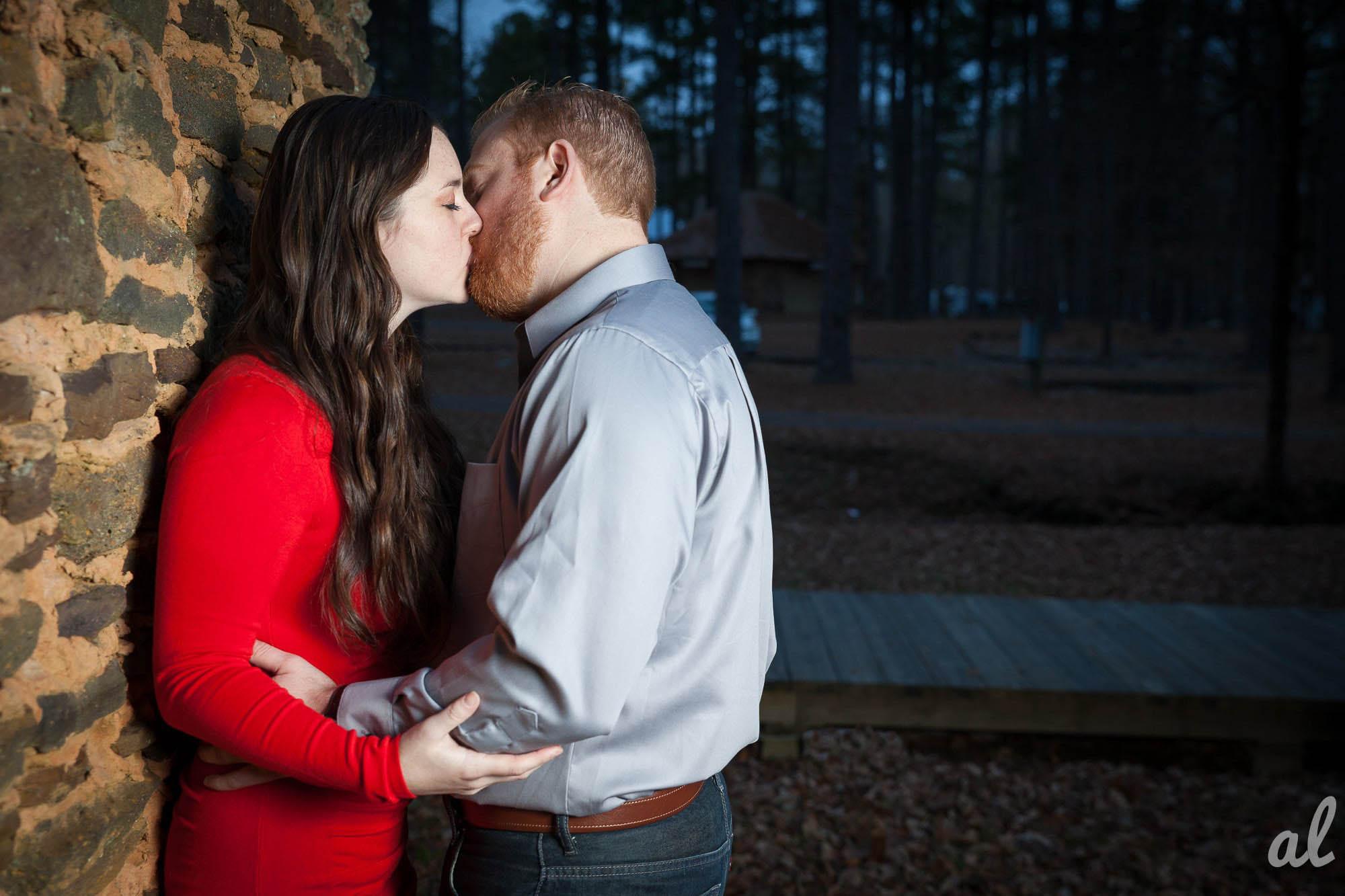 Tyler and Luke | Engagement |Tannehill State Park-14