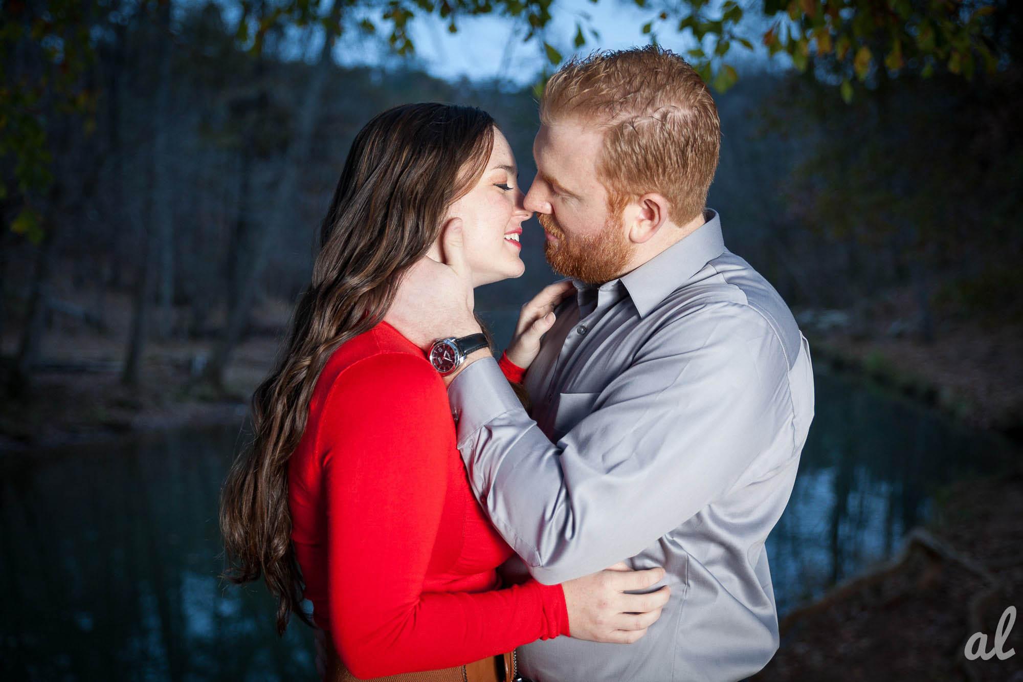 Tyler and Luke | Engagement |Tannehill State Park-15