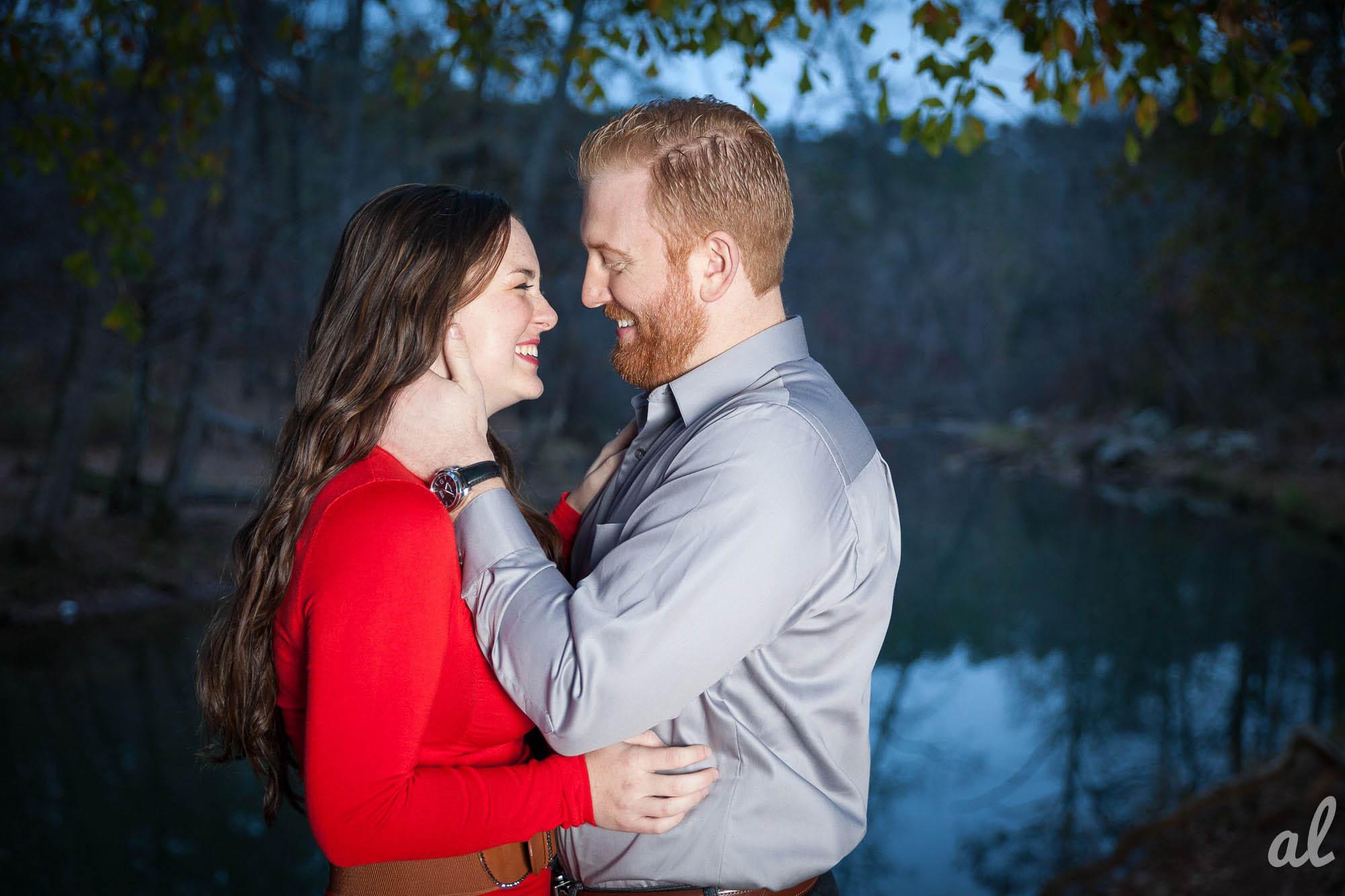 Tyler and Luke | Engagement |Tannehill State Park-16