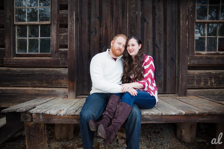 Tyler and Luke | Engagement |Tannehill State Park-2