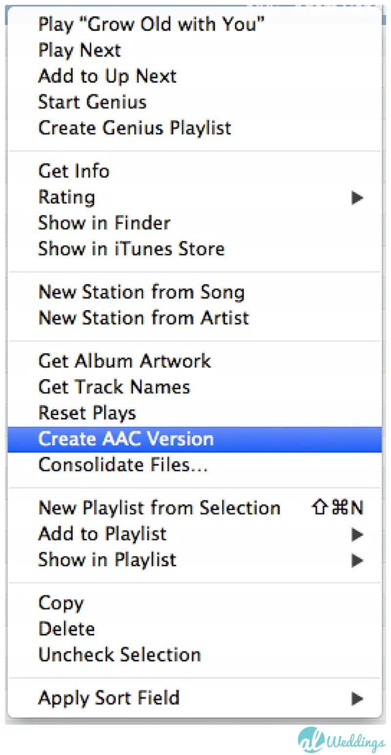 How to make the best wedding playlist with song list itunes create acc version junglespirit Image collections