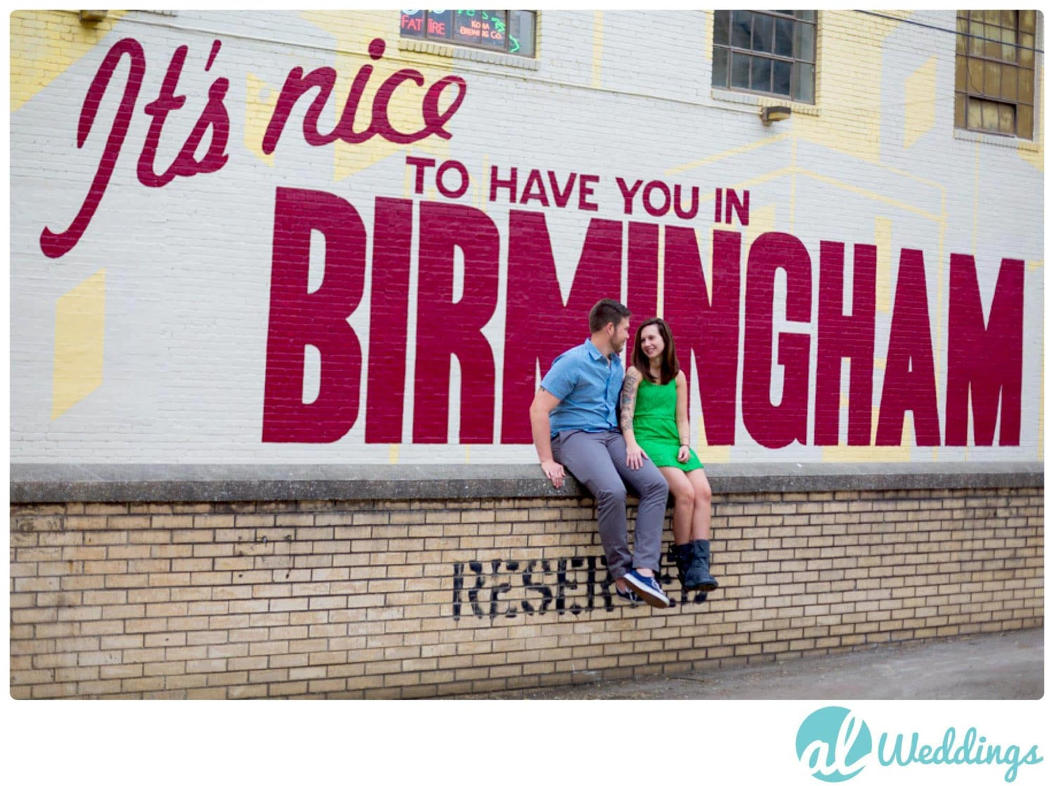 Birmingham,engagement,its nice to have you in birmingham,sign,