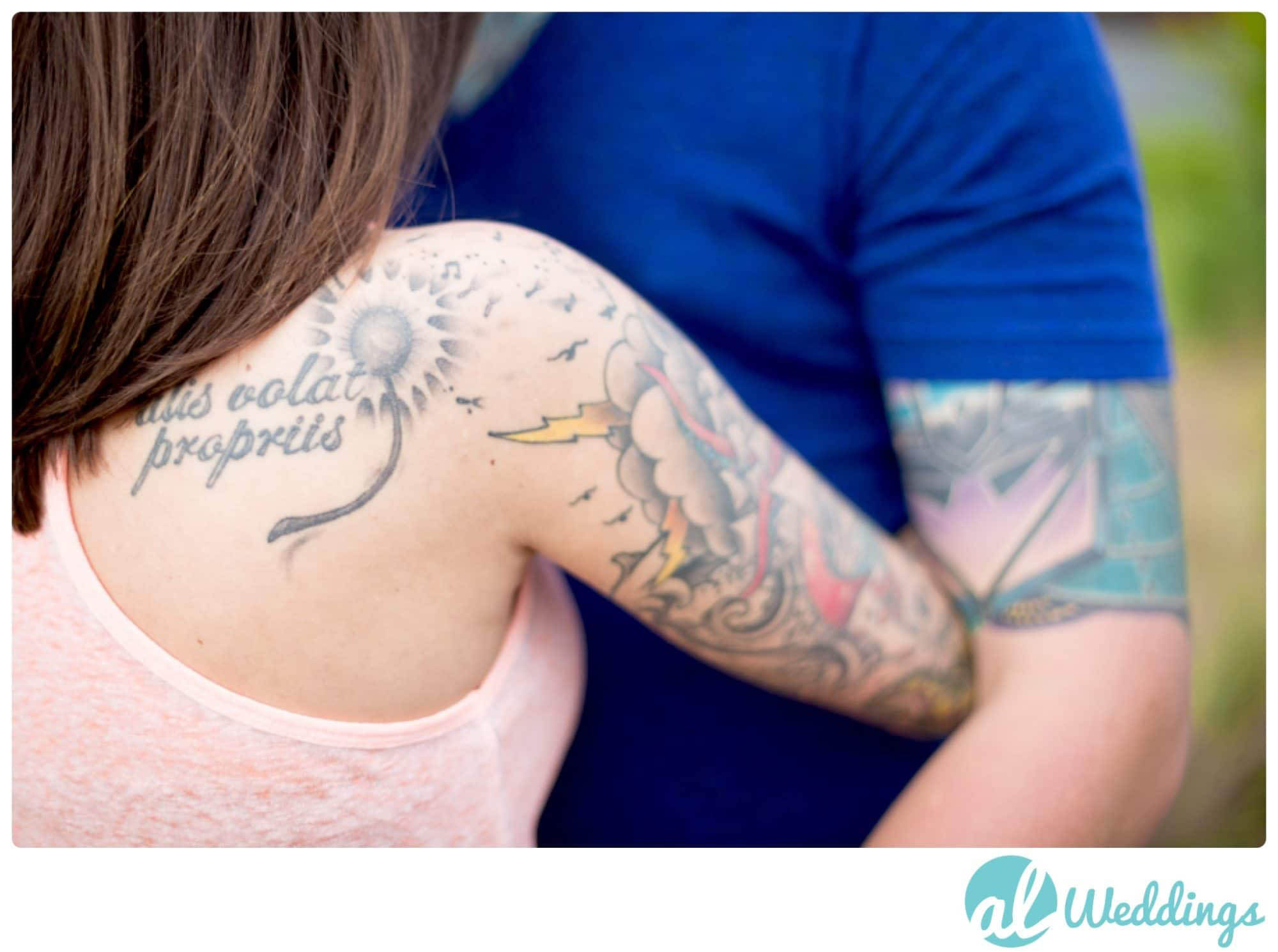 Birmingham,Tattoos,engagement,railroad park,