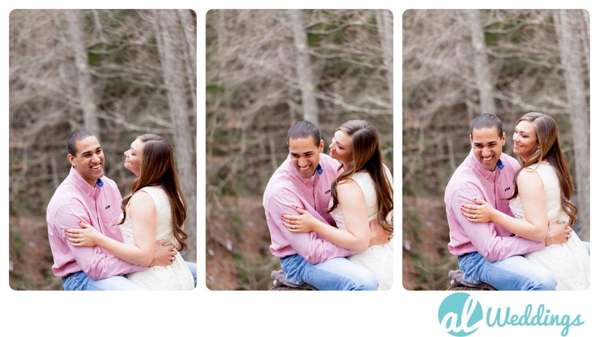 Alabama Wedding Photography,Country,Natural Light,Waterfall,Winter,engagement,ice,outdoors,snow,