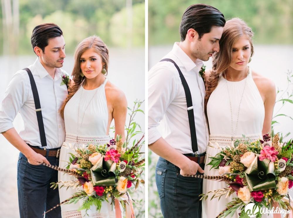 Bohemian Styled Shoot Birmingham Wedding Photographer-5
