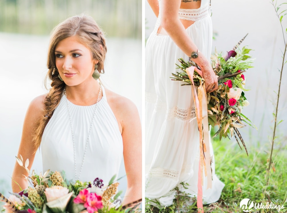 Bohemian Styled Shoot Birmingham Wedding Photographer-9