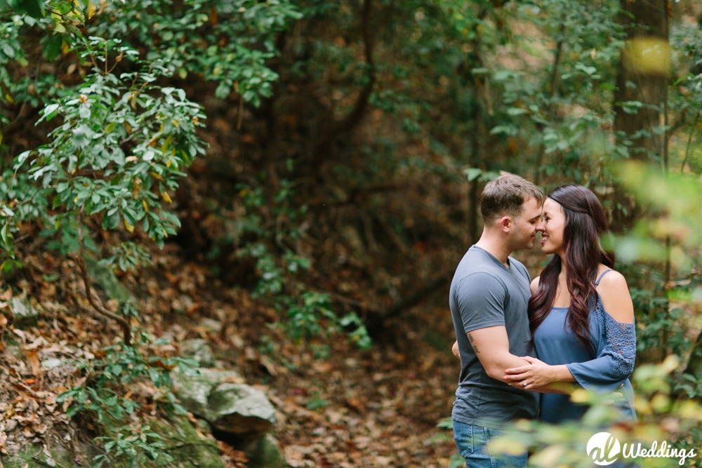 Mabel + Sting Oak Mountain Engagement Session 6