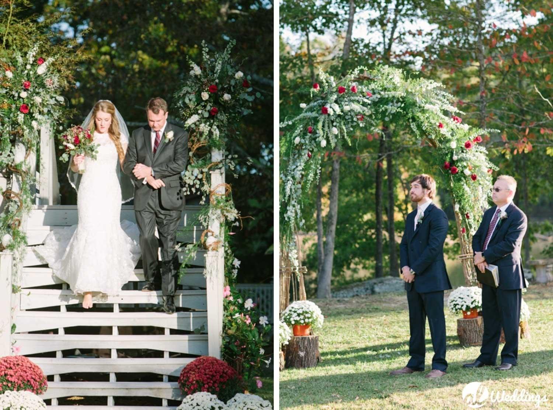 Meg + Dean | Back Yard Wedding | huntsville, Alabama Photographer-142