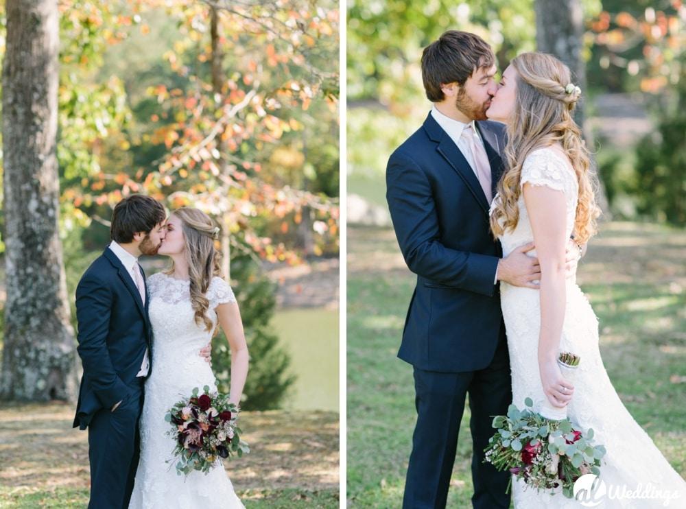 Meg + Dean | Back Yard Wedding | Huntsville, Al