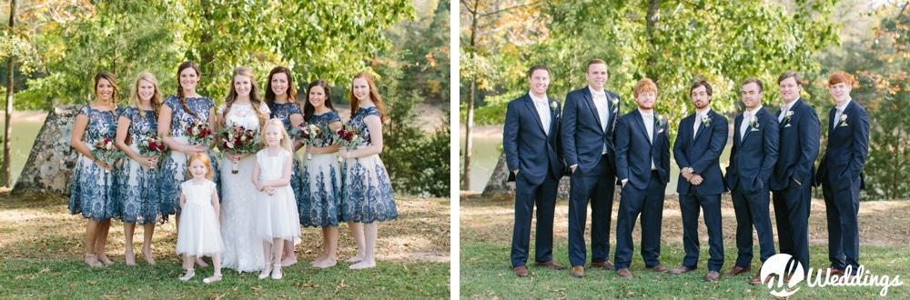 Meg + Dean | Back Yard Wedding | huntsville, Alabama Photographer-81