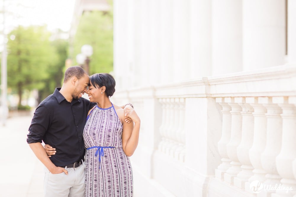 Sunny Downtown Alabama Engagement Session10