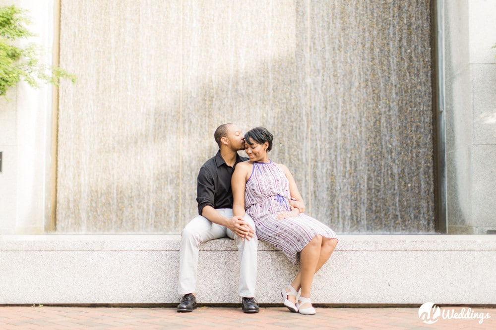Sunny Downtown Alabama Engagement Session11