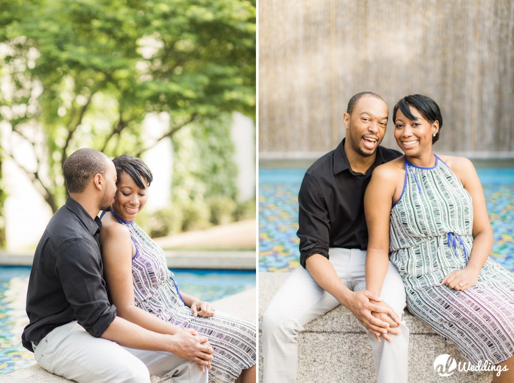 Sunny Downtown Alabama Engagement Session13