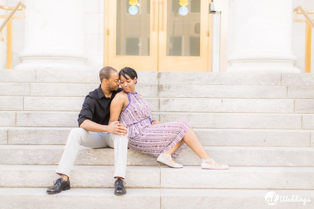Sunny Downtown Alabama Engagement Session2