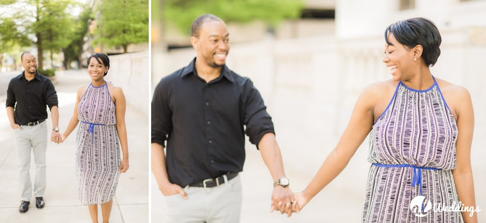 Sunny Downtown Alabama Engagement Session30