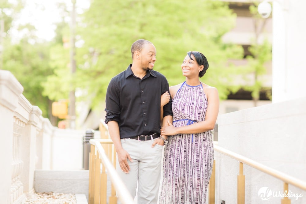 Sunny Downtown Alabama Engagement Session33