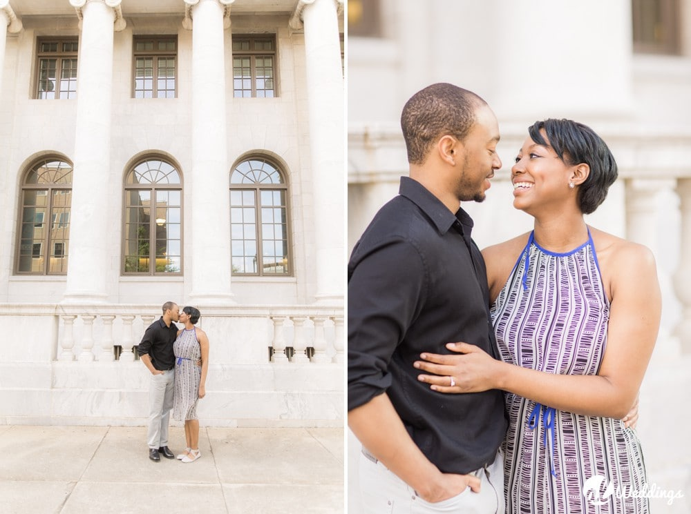 Sunny Downtown Alabama Engagement Session4