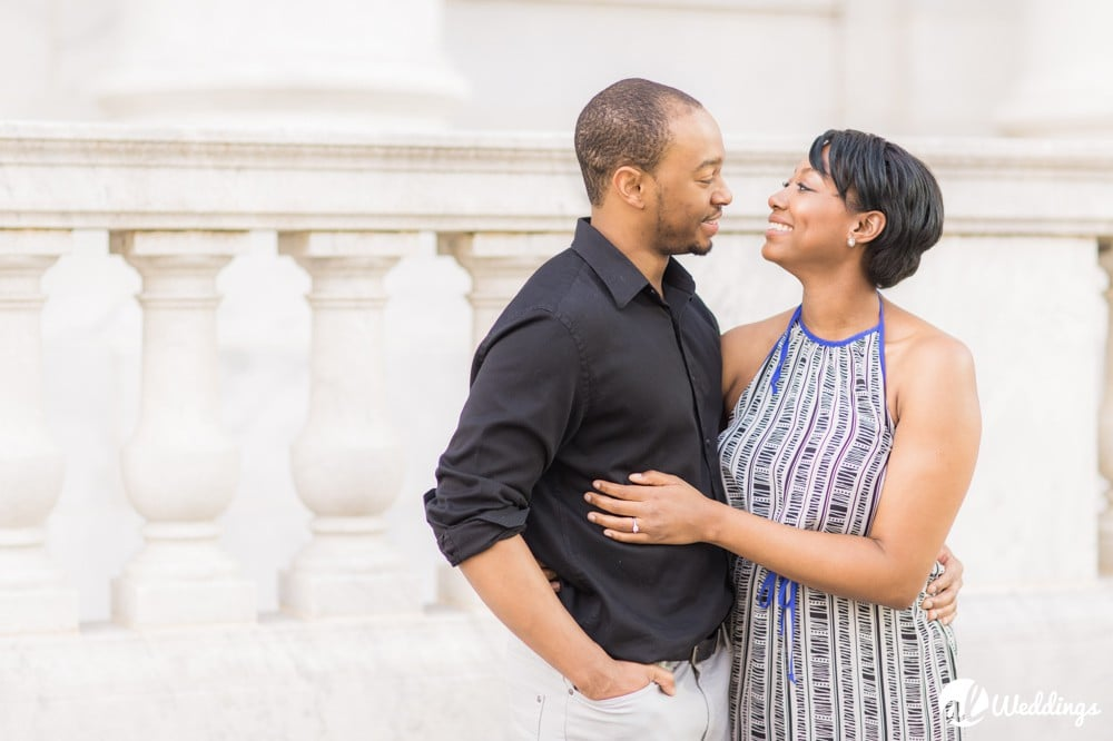 Sunny Downtown Alabama Engagement Session5