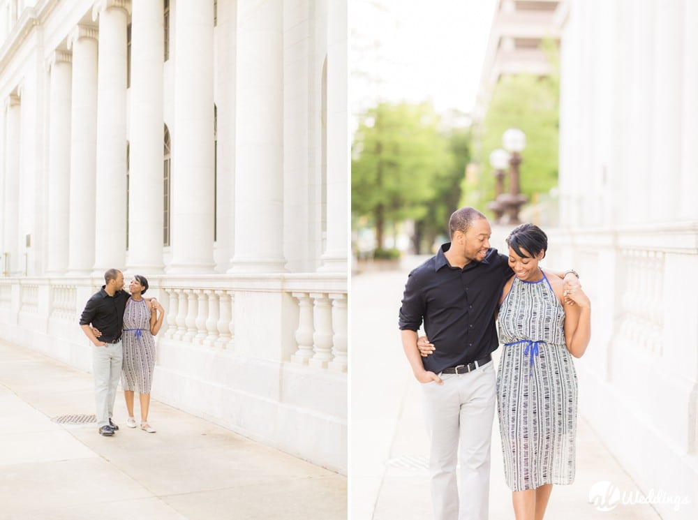 Sunny Downtown Alabama Engagement Session7