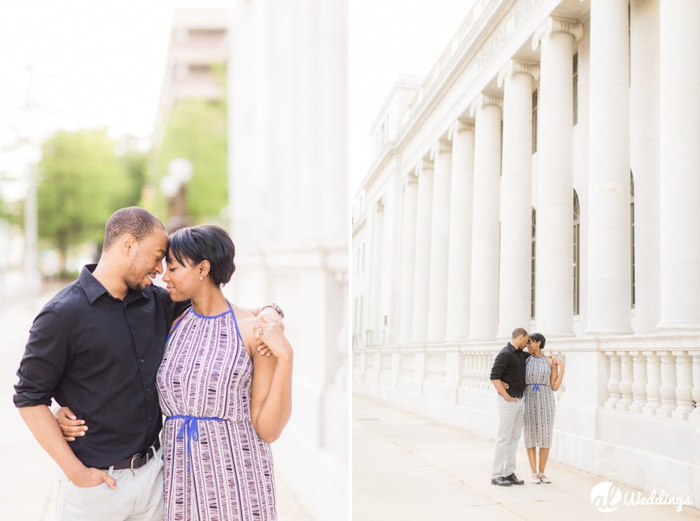 Sunny Downtown Alabama Engagement Session9