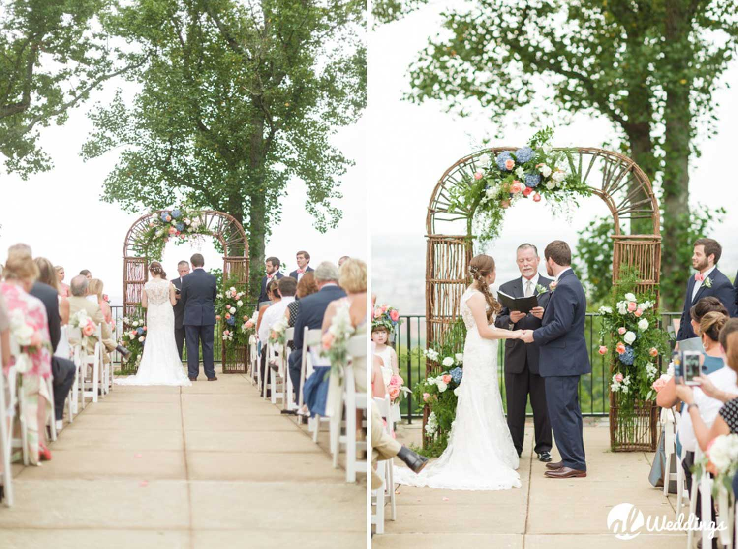 Sara + Logan | Vulcan Park | Wedding | Birmingham Alabama Wedding  Photographer