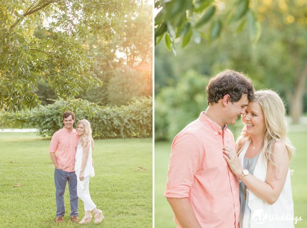 Kiesel Park Auburn Al Engagement Photography 48