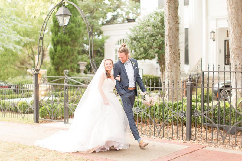 Water Color Floral and Garden Wedding Inspiration Shoot Donnelly House | Birmingham, Alabama