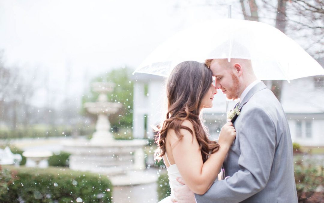 A Rainy Wedding Day at Mathews Manor Aria & David | Springville, AL