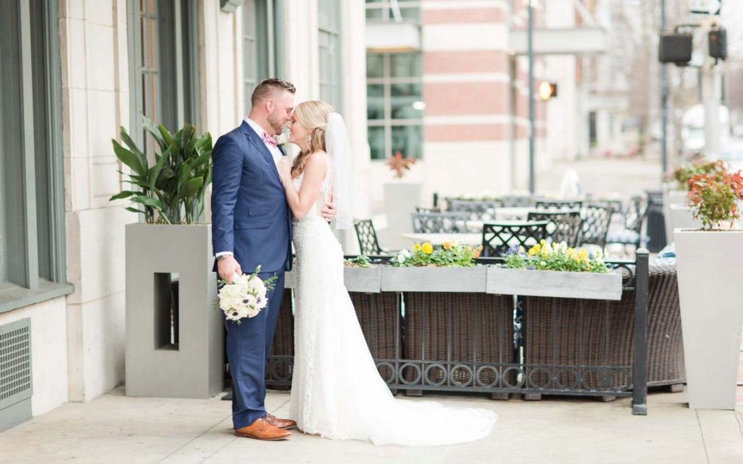 Navy & Blush Inspired Rainy Day Wedding Ashlee & Matt | Birmingham, AL