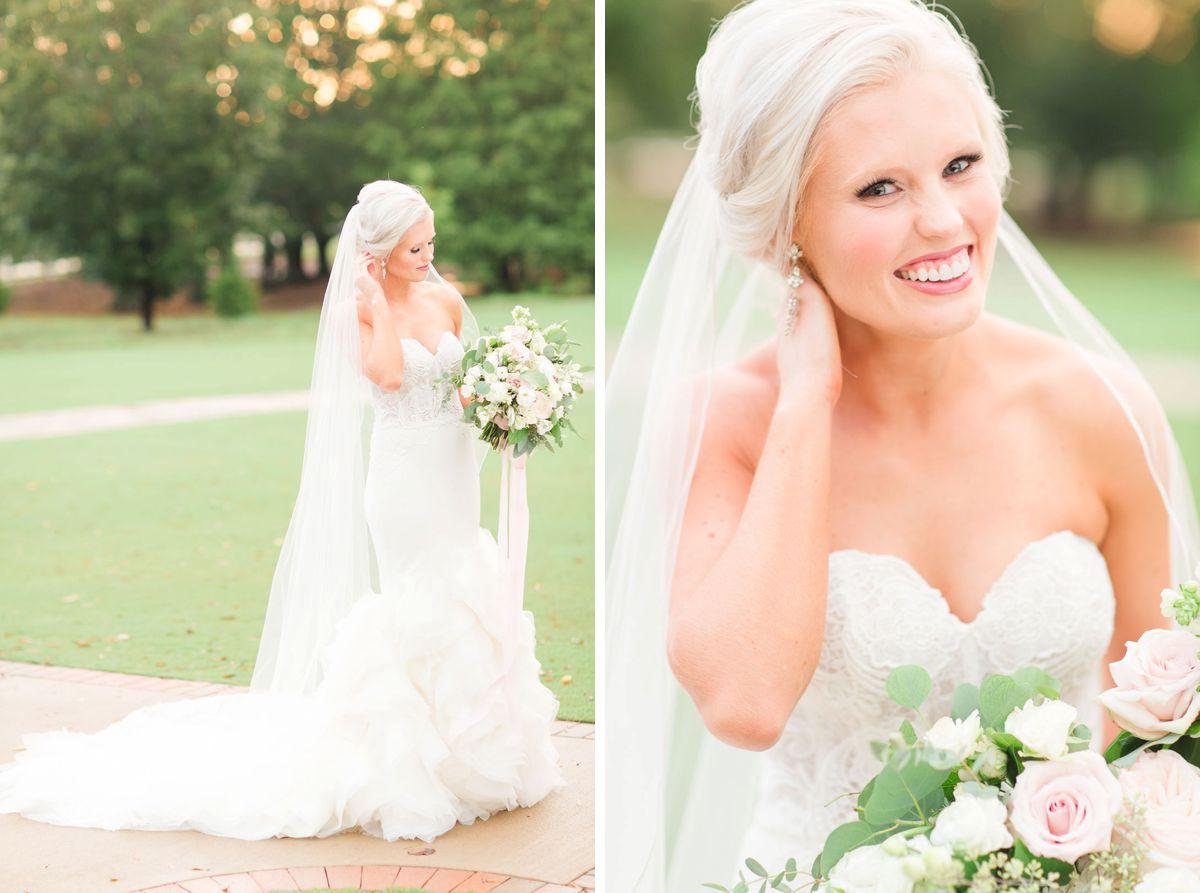 A Bridal Session Inside Hamilton Place at Pursell Farms | AL Weddings