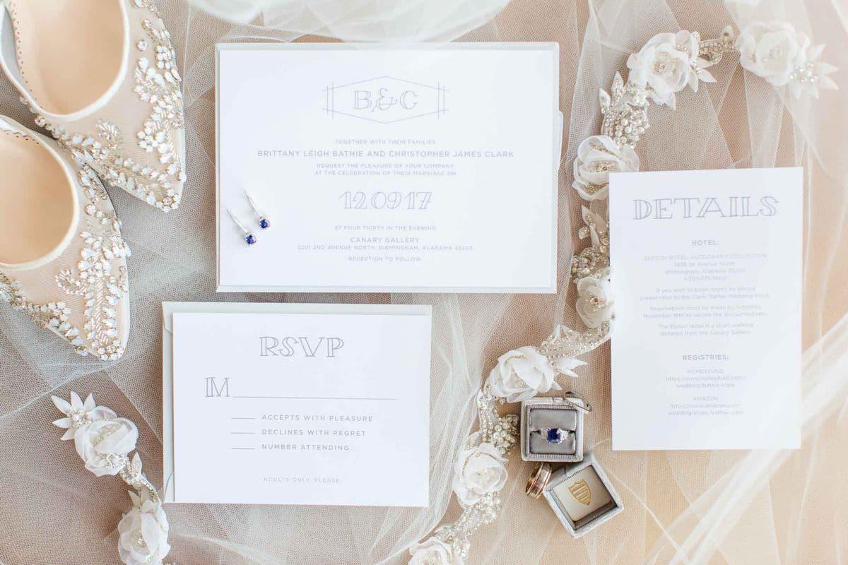 Modern Winter Wedding with Elyton Hotel Wedding and Canary Gallery ...